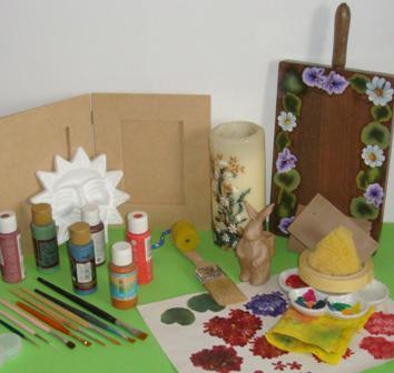 Manualidades manualidades madera - Pintar sobre barniz ...