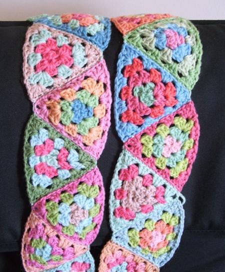 bufanda de tringulos
