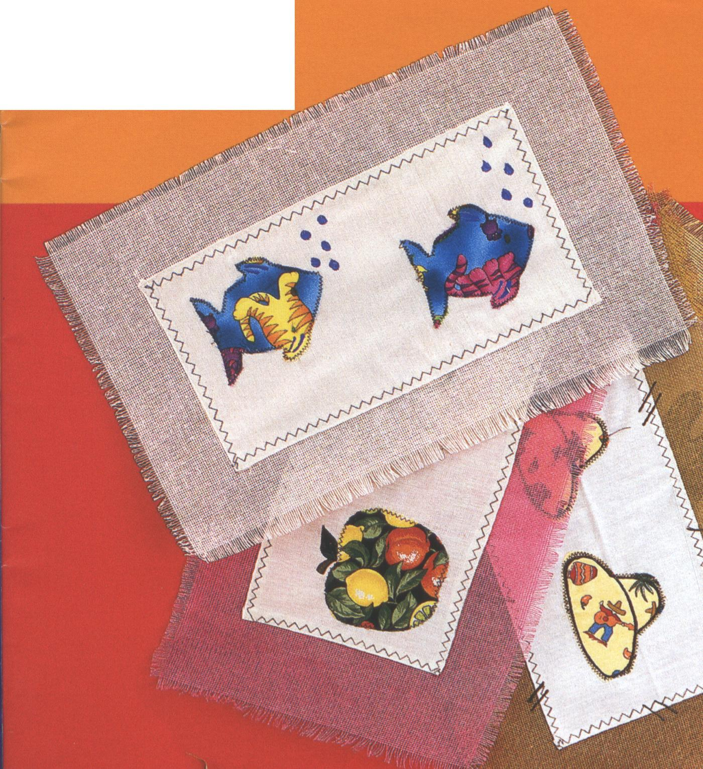 Manualidades realizar manteles individuales for Manteles individuales de tela