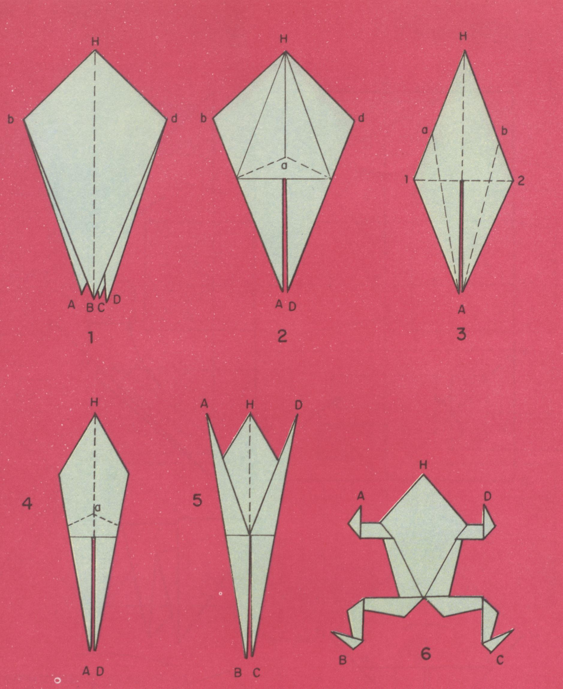 Manualidades rana en origami la rana thecheapjerseys Images