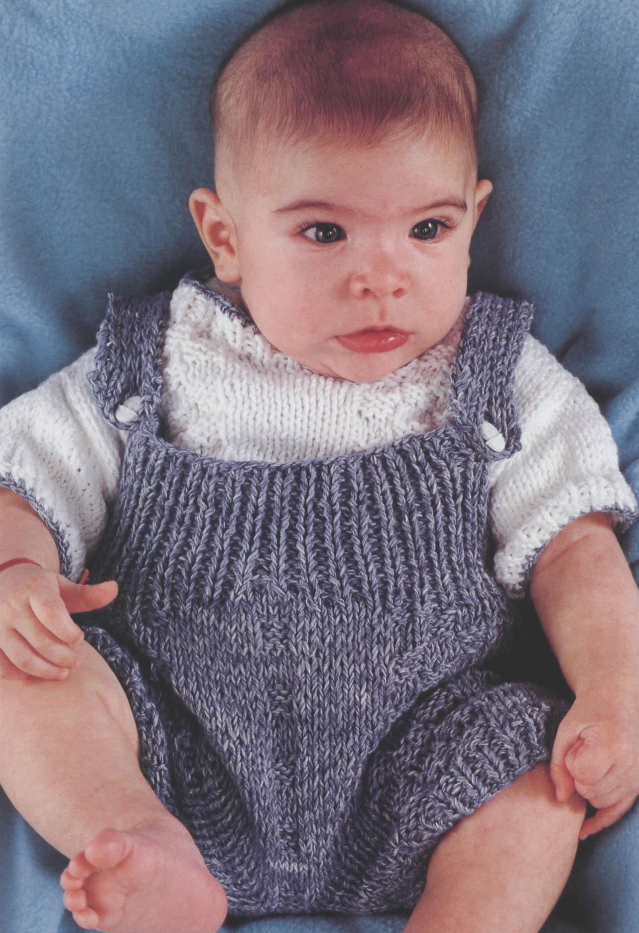 Ropa bebe. MATERIALES Hilo azulino de 2 hebras (tejido doble)  1OO g. Hilo  blanco de 2 hebras (tejido doble)  90 g. Agujas Nº 3 y de crochet. 2 botones 9c6642144b51