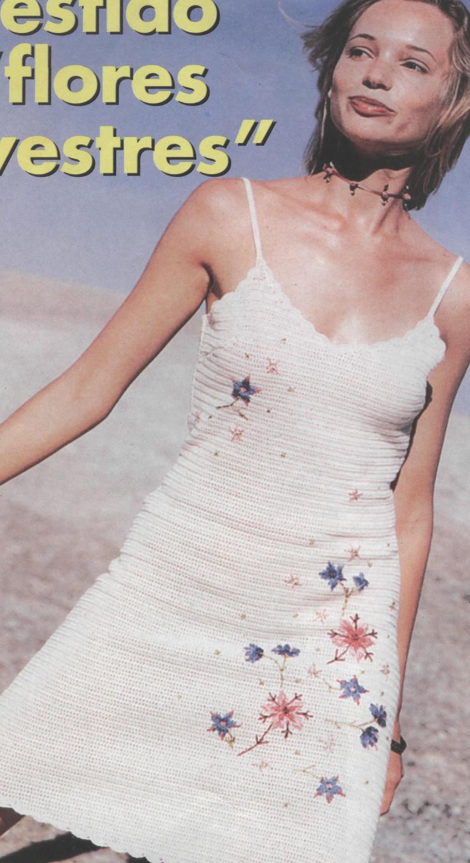 Manualidades » Vestido en crochet